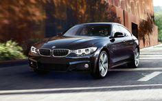 BMW 4 Series Gran Coupe in Carbon Black metallic