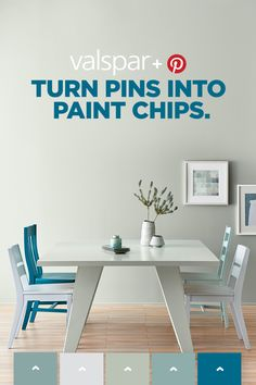 Let's turn that Pinterest #homeinspo into a reality. Use Valspar's Pinterest Analyzer to find paint chips that match the colors hiding in your boards and then get paint chips delivered to your door for free.