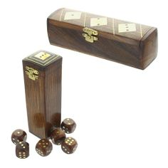 Dice Boxes £6.95 #wooden #home #games