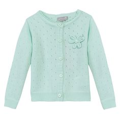 #babygirl #cardigan #acquamarina #ss15 #spring #cotton #zgeneration http://it.zgeneration.com/it/catalog/Cardigan-in-puro-cotone,2933730.html?axe2=6M&catalogParam%5BtopicId%5D=1935720