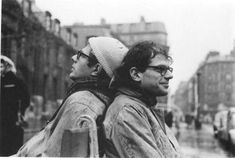 Peter Orlovsky and Allen Ginsberg
