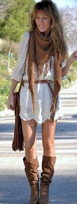Zara-dresses-look-scarf-botas