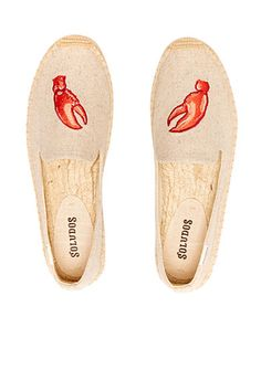 Whether you are lounging or taking a step outside, these slippers are perfect for your collection. Featuring a braided side wall and fun lobster claw design, these are perfect for everyday wear. Espadrilles Outfit, Float Your Boat, Smoking Slippers, Shoe Box, Household Items, Bag Accessories, Take That, Flats, How To Wear