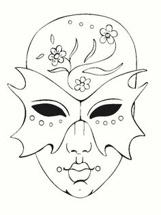 coloriage masques de carnaval Mardi Gras, Mask Painting, Fabric Painting, Mask Drawing, Line Drawing, Mandala Pattern, Vinyl Crafts, Coloring Book Pages, Bead Art