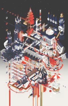 """The winners of the 2017 Fairy Tales Architecture Competition HONORABLE MENTION: Minh Tran, Alan Ma, & Yi Ning Lui for """"iDentity: Virtual Reality Therapy for Cultural Identity Crises"""""""