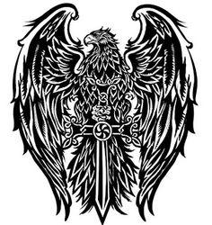 Eagle minus the sword