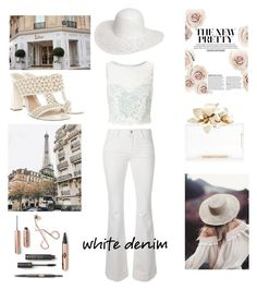 """White denim"" by darklady2705 on Polyvore featuring STELLA McCARTNEY, Alexander McQueen, Dorothy Perkins and Miss Selfridge"