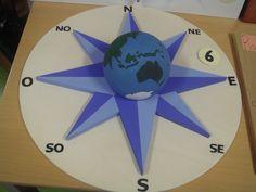 Geografia - 7º Ano: Rosas dos Ventos criativas - Pesquisa Google Compass Rose, Origami, Bullet Journal, Clock, Gabriel, Presents, Wallpapers, School, Ideas