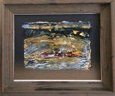 Petite Landscape  2017 Oil on canvas 34X26cm (framed)