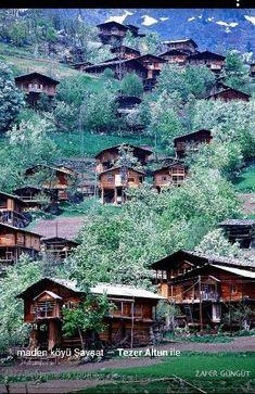 ✿ ❤ Maden köyü Şavşat, Artvin. Türkiye