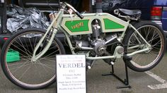 VERDEL 750cc OHV 5 cylinder Radial engine