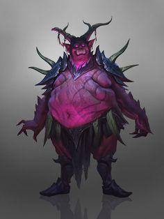 demon concept, Grigory Serov on ArtStation Fantasy Demon, Fantasy Monster, Monster Art, Dark Fantasy, Fantasy Art, Character Concept, Character Art, Concept Art, Character Design