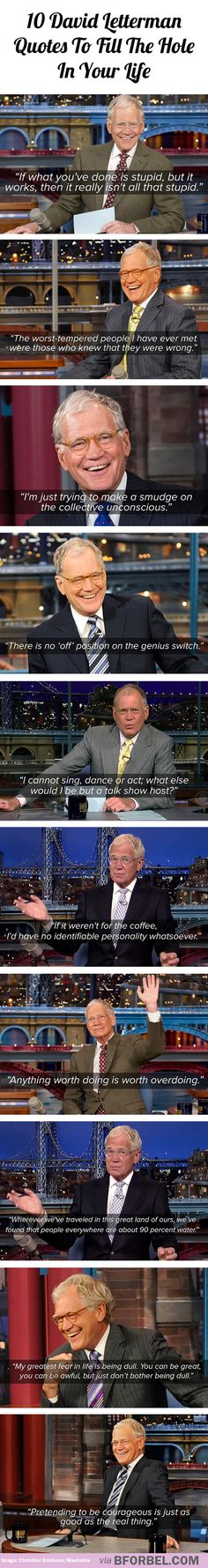 10 David Letterman quotes to fill the hole in your life
