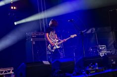 The Wytches On Blackheath Festival Blackheath London England United Kingdom  www.alamy.com/image-details-popup.asp?ARef=FTHTA0  #daniel #rumsey #kristian #bell #the #wytches #english #stage #live #lights #rock #concert #three #piece #surf #psych #band #singer #songwriter #on #blackheath #festival #psychedelic #surf #grunge #garage #punk #gianni #honey #guitar
