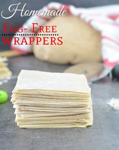 How To Make Homemade Spring Roll Wrappers, easy way to make homemade spring roll sheets,Eggless wonton wrappers, egg free wonton wrappers, Wonton wrappers Homemade Spring Rolls, Homemade Egg Rolls, Vegan Spring Rolls, Spring Roll Wraps, Egg Roll Wraps, Chinese Appetizers, Vegan Appetizers, Italian Appetizers, Chinese Desserts