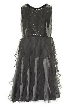 Creamie Eliane dress black