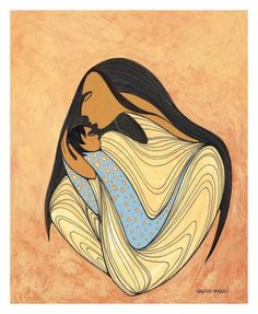 A New Beginning . Maxine Noel. Mother and Child