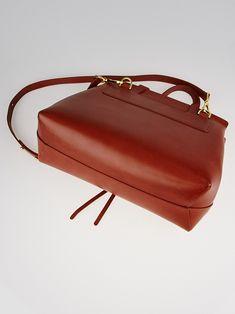 Mansur Gavriel Brandy Vegetable Tanned Leather Lady Bag - Yoogi s Closet  Vegetable Tanned Leather 4f71bd1a4b095