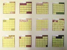 Reusable DIY Sticky Note Calendar