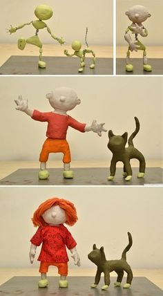 How to Make Puppets for Stop-Motion Animation | Jointed Limbs and Clay Art Doll Figures ★ Squidoo