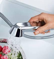 Risultati immagini per miscelatori cucina con doccetta estraibile