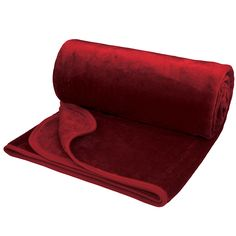 Giant Soft Touch Faux Fur Throw in Red #valentines