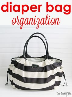 diaper bag organization. Keep your diaper bag organized so it's easy to get to what you need.