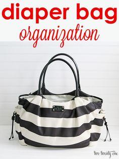 Great diaper bag organization tips and tricks!