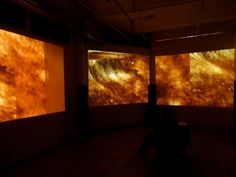 """The Creators Project: """"SKIN"""" Transforms Your Emotions Into Sound And Color Through Sweat Data Creators Project, Installation Art, Storytelling, The Creator, Set Design, Human Body, Future, Color, Top"""