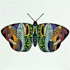 Bird Wings, Colour Pattern, Color, Printmaking, Unity, Decorative Bowls, Shapes, Texture, Contrast