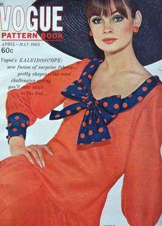 Jean Shrimpton in Vogue 1965  (Scan thanks to Jane Davis)