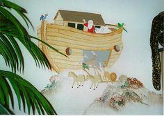 Noahs Ark Nursery Decor