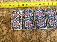 Pulsera ancha con réplica de azulejo por LasJoyitasDeMarie en Etsy, $24.50