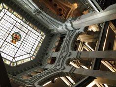 Madrid, Spain -- The Cibeles ceiling