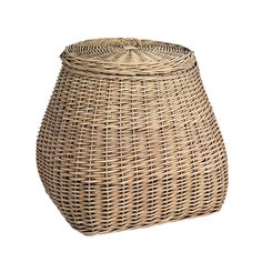 Holly Laundry Basket With Lid, Brown $144. - RoyalDesign.com
