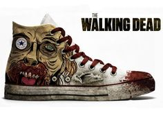 The Walking Dead X Converse's Chuck Taylor Allstars. The walking dead shoes