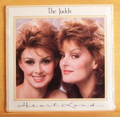 THE JUDDS - Heart Land - MINT Vinyl LP - STILL SEALED Don´t be cruel - Top RARE