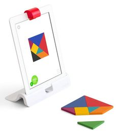 "Having kids focus beyond a small screen, the Osmo app incorporates ""tangible"" pieces in the real world"