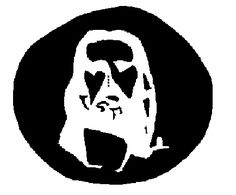 optical illusion stare at the 4 dots in middle for at least 30 sec. then close eyes and look at white wall or paper