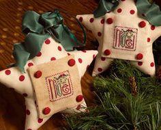 Noel Memes Everlasting christmas cross stitch chart Trail Creek Farm $2.50