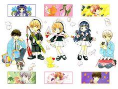 Cardcaptor Sakura, Otaku Anime, Anime Manga, Clear Card, Thing 1, Magical Girl, Sailor Moon, Chibi, Kawaii