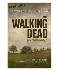 Look what I found on #zulily! The Walking Dead Psychology Paperback #zulilyfinds