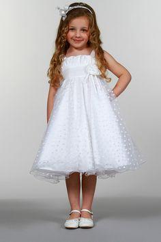 a1d491f37e0 Robe en tulle floqué coeurs Blanc - Tati Robe Tati