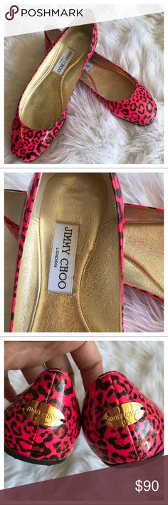 Jimmy Choo Flats Amazing condition. Almost like new. True to size. Authentic. No box or dust bag included. Jimmy Choo Shoes Flats & Loafers