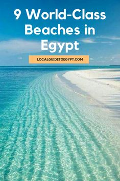9 World-Class Beaches in Egypt Egypt Travel, Africa Travel, North Coast Egypt, Sharm El Sheikh Egypt, Beautiful Places In The World, Beautiful Beaches, Places In Egypt, Sunken City, Beaches In The World