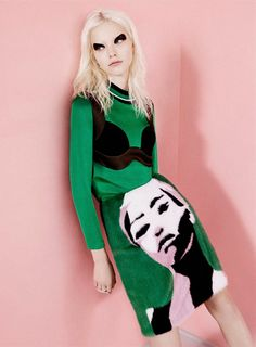 sasha luss by ben toms for another mag