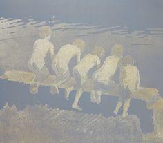 Sommerminne1 Indian Summer, Diagram, Painting, Art, Pastel, Kunst, Art Background, Painting Art, Paintings