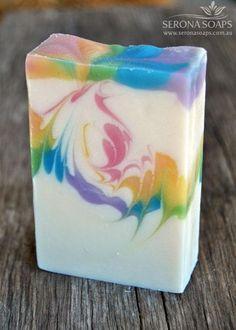 Rainbow Magic Soap | Serona Soaps | Handmade Soap | Eco-Friendly Natural Body Soap