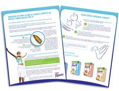 Diseño publicitario/editorial - Stop Diseño Gráfico - Diseño de Block Fitness 1 - Cereal Partners Worldwide.