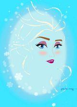 Elsa - Artwork by Paulway Chew